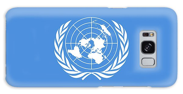 The United Nations Flag  Authentic Version Galaxy Case