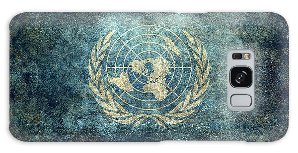 Olive Branch Galaxy Case - The United Nations Flag  Vintage Version by Bruce Stanfield
