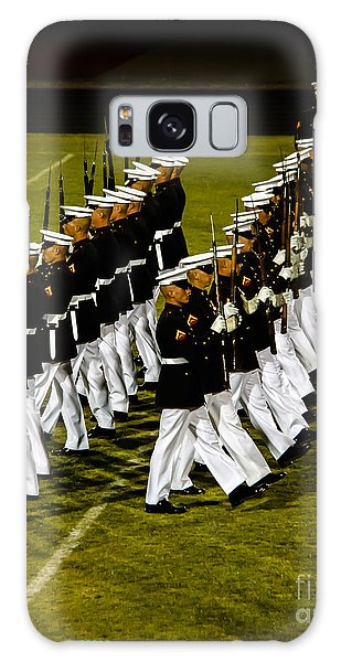 The United States Marine Corps Silent Drill Platoon Galaxy Case
