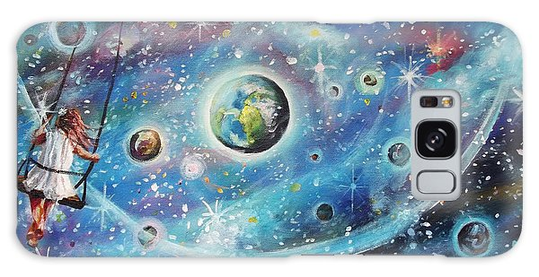 The Universe Is My Playground Galaxy Case