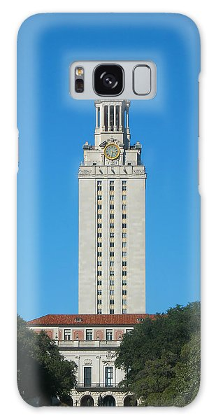 The University Of Texas Tower Galaxy Case by Connie Fox