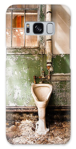 Galaxy Case featuring the photograph The Urinal by Gary Heller
