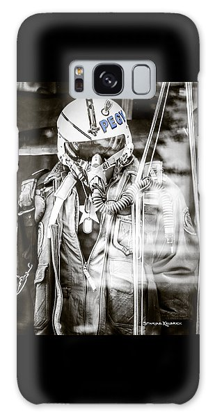 Galaxy Case featuring the photograph The U.s Airman by Stwayne Keubrick