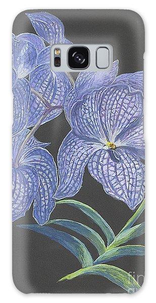 The Vanda Orchid Galaxy Case by Carol Wisniewski