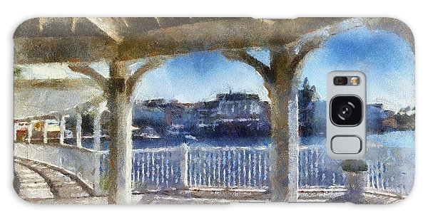 The View From The Boardwalk Gazebo Wdw 02 Photo Art Galaxy Case by Thomas Woolworth
