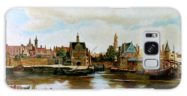 The View Of Delft Galaxy Case by Henryk Gorecki