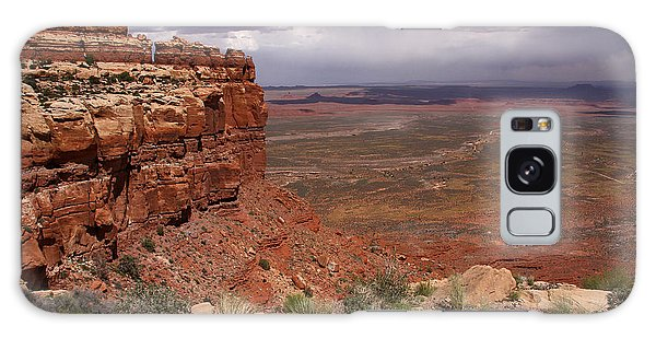 The View South From Moki Dugway Galaxy Case by Butch Lombardi