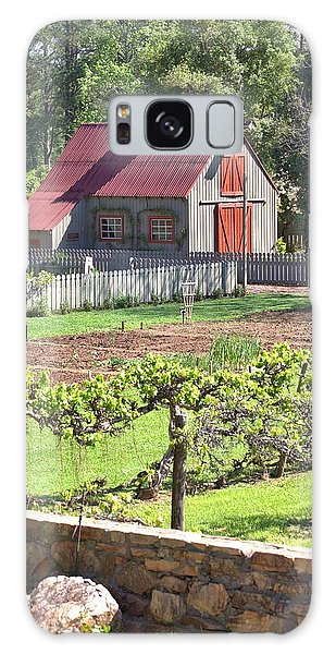The Vineyard Barn Galaxy Case