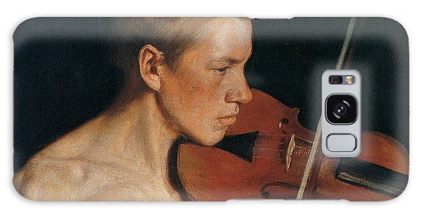 Violin Galaxy Case - The Violinist by Celestial Images