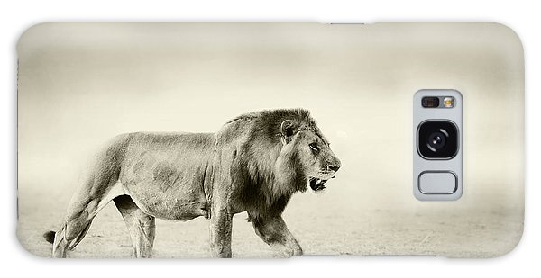 Lion Galaxy Case - The Walk by Wildphotoart