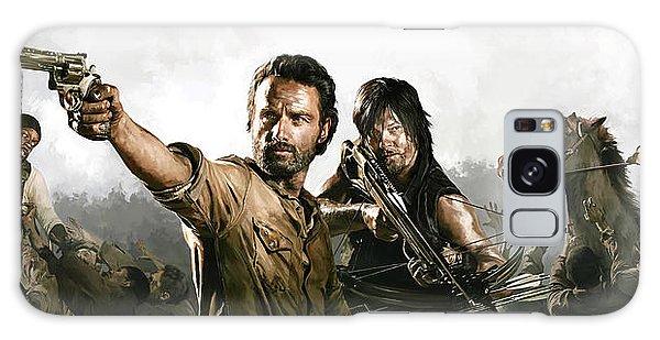 The Walking Dead Artwork 1 Galaxy Case
