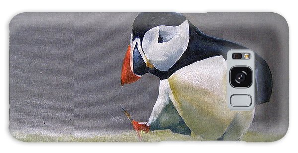 The Walking Puffin Galaxy Case