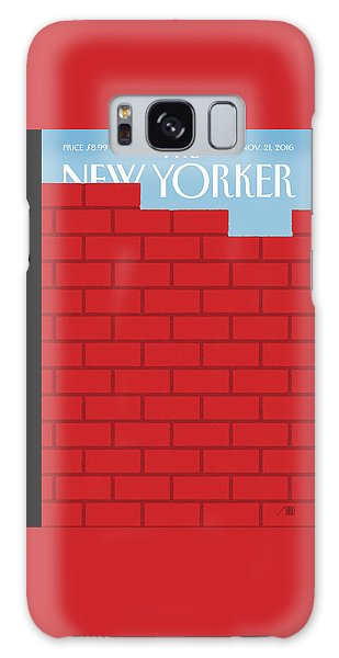 Berlin Galaxy Case - The Wall by Bob Staake