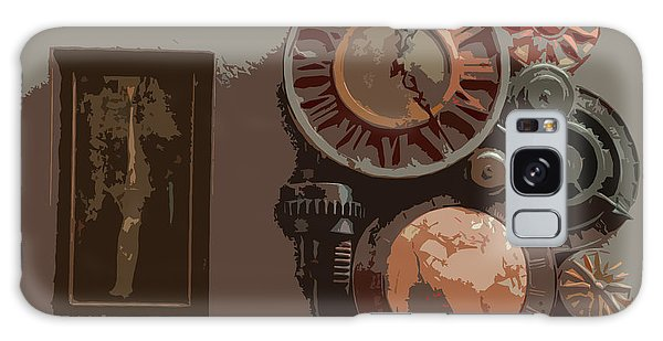 The Wall Clock Galaxy Case