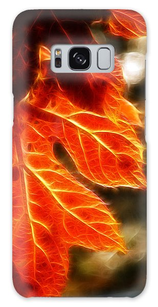 The Warmth Of Fall Galaxy Case