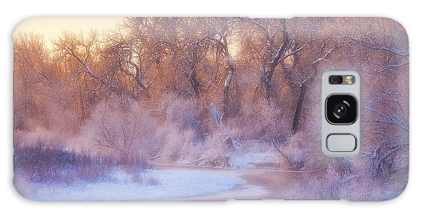 Ice Galaxy Case - The Warmth Of Winter by Darren  White