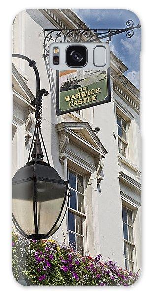 The Warwick Castle Pub Galaxy Case by Cheri Randolph
