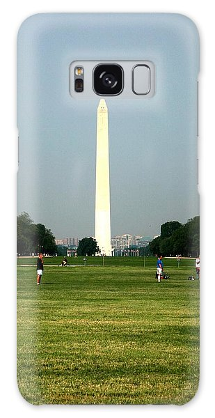 The Washington Monument Galaxy Case