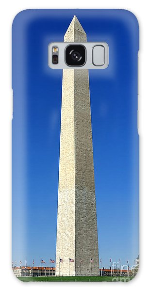 Washington Monument Galaxy S8 Case - The Washington Monument by Olivier Le Queinec
