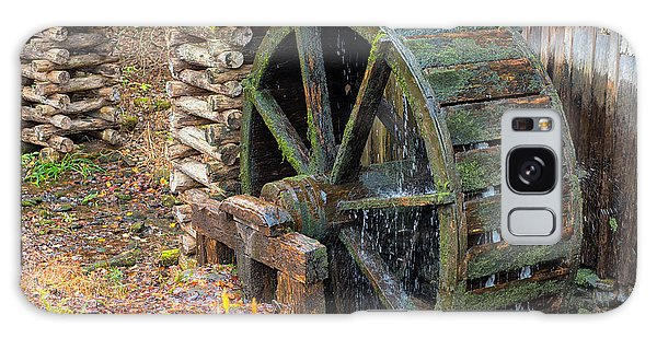 The Water Wheel At Cable Grist Mill Galaxy Case