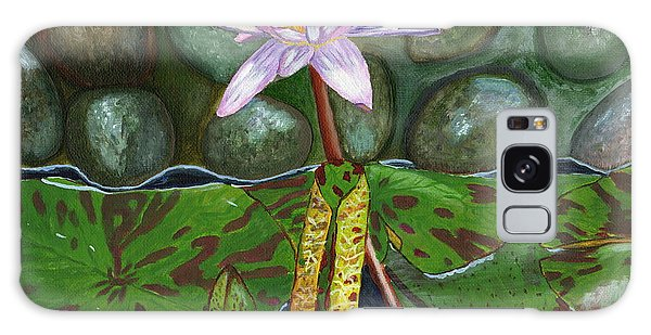 The Waterlily Galaxy Case by Laura Forde