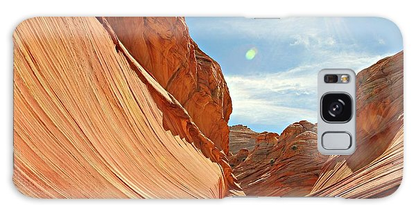 The Wave Rock #1 Galaxy Case