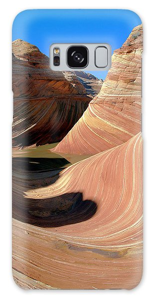 'the Wave' North Coyote Buttes 19 Galaxy Case