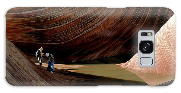 'the Wave' North Coyote Buttes 44 Galaxy Case