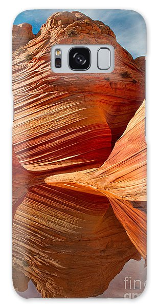 The Wave With Reflection Galaxy Case by Jerry Fornarotto