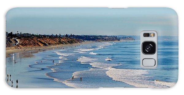 The Waves In Carlsbad Beach California  Galaxy Case