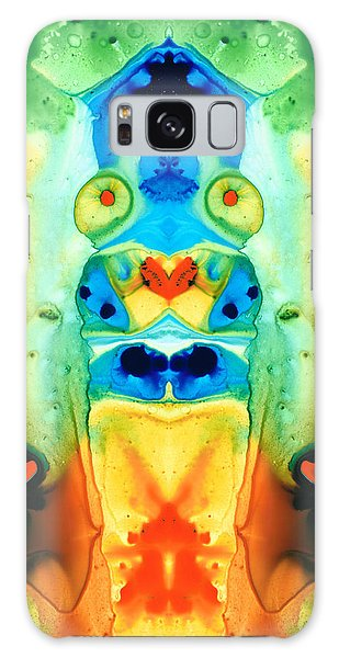 Abstract People Galaxy Case - The Wedding - Abstract Art By Sharon Cummings by Sharon Cummings