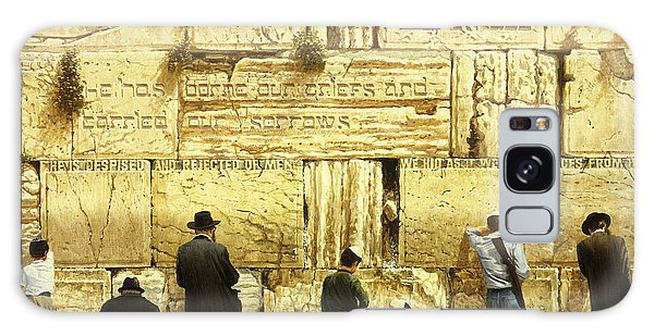 The Western Wall  Jerusalem Galaxy Case