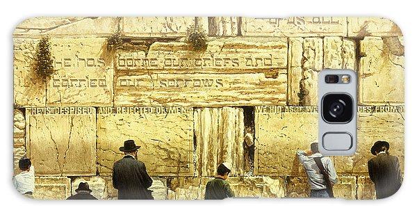 The Western Wall  Jerusalem Galaxy Case