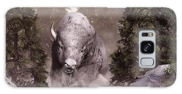 The White Buffalo Galaxy Case by Daniel Eskridge
