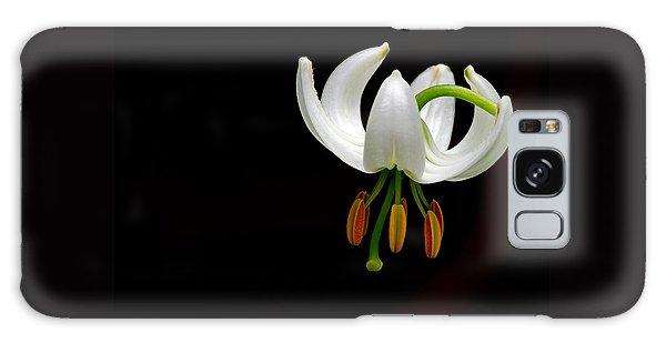 The White Form Of Lilium Martagon Named Album Galaxy Case