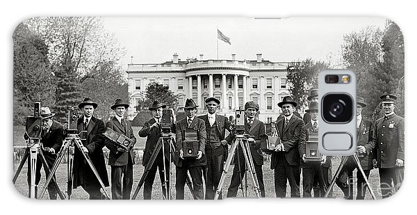 The White House Photographers Galaxy Case