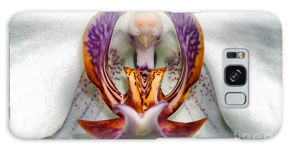 The White Orchid Galaxy Case by Odon Czintos