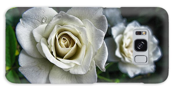 The White Rose Galaxy Case by Oscar Alvarez Jr