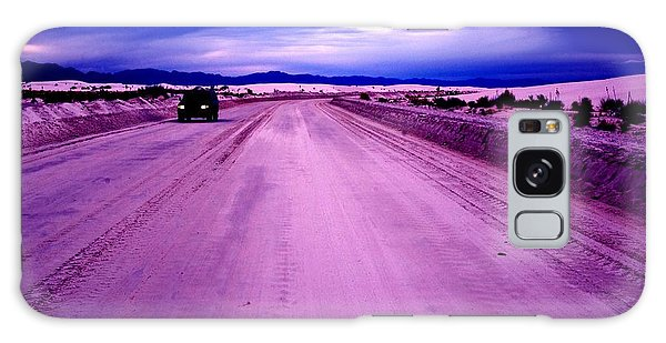 The White Sands Car New Mexico Galaxy Case by Bob Pardue