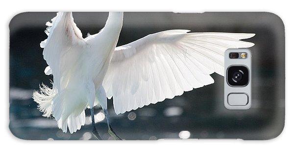 The White Winged Wonder Galaxy Case