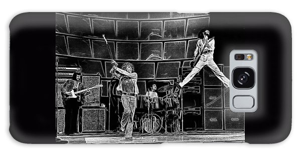 The Who - A Pencil Study - Designed By Doc Braham Galaxy Case