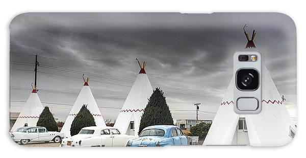 The Wigwam Motel In Holbrook Galaxy Case by Carol M Highsmith