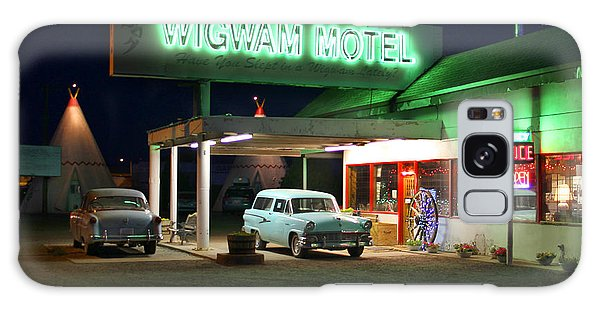 66 Galaxy Case - The Wigwam Motel On Route 66 2 by Mike McGlothlen