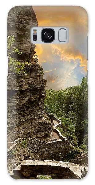 Galaxy Case featuring the photograph The Winding Trail by Jessica Jenney