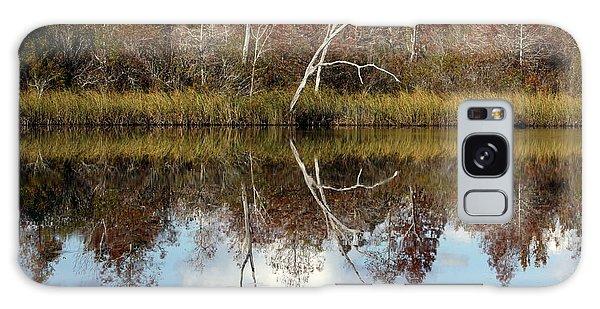 The Winter Tree Galaxy Case by Debra Forand
