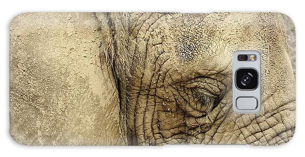 The Wise Old Elephant Galaxy Case by Nikki McInnes