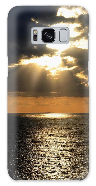 Key West Sunset The Word Galaxy Case