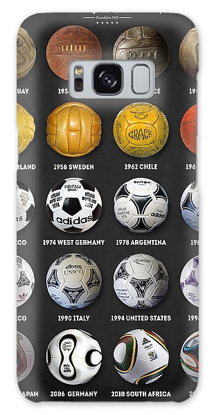 The World Cup Balls Galaxy Case