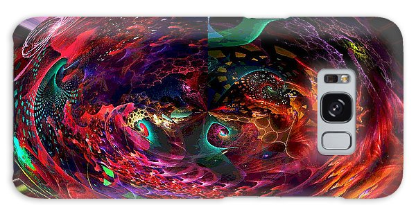 Colorful Orb Galaxy Case