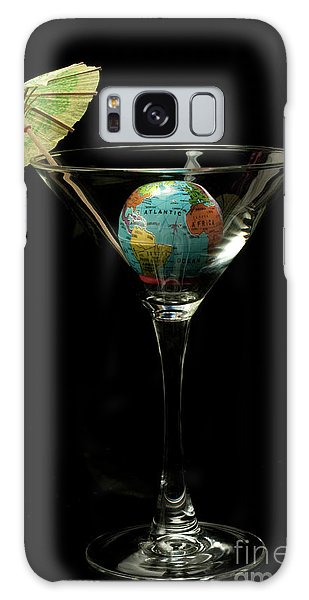 The World Tini Cocktail Galaxy Case by Linda Matlow